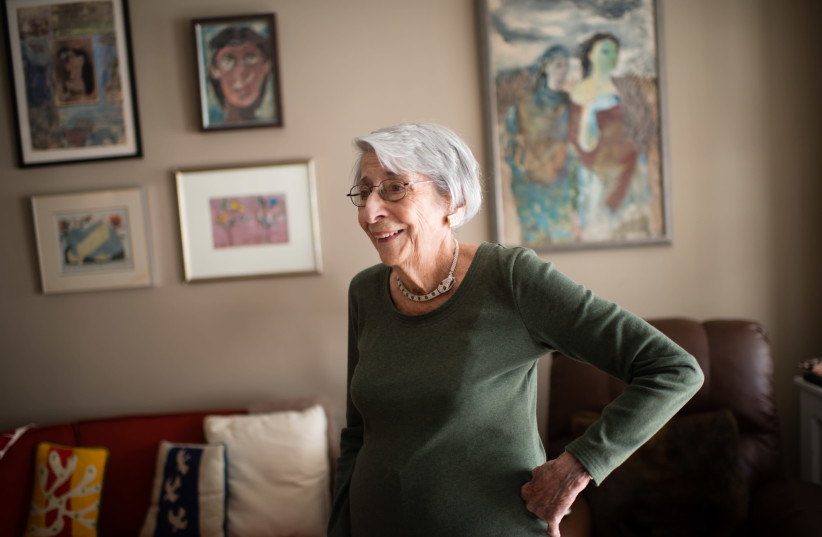 Marilee Asher Shapiro at her home in Washington, D.C., in 2015. (photo credit: SARAH L. VOISIN/THE WASHINGTON POST VIA GETTY IMAGES/JTA)