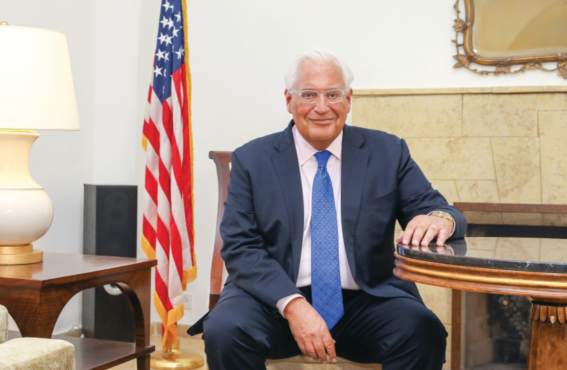 David Friedman (photo credit: MARC ISRAEL SELLEM/THE JERUSALEM POST)