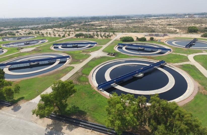 SHAFDAN WASTEWATER treatment plant. (photo credit: YOSI & UZI)