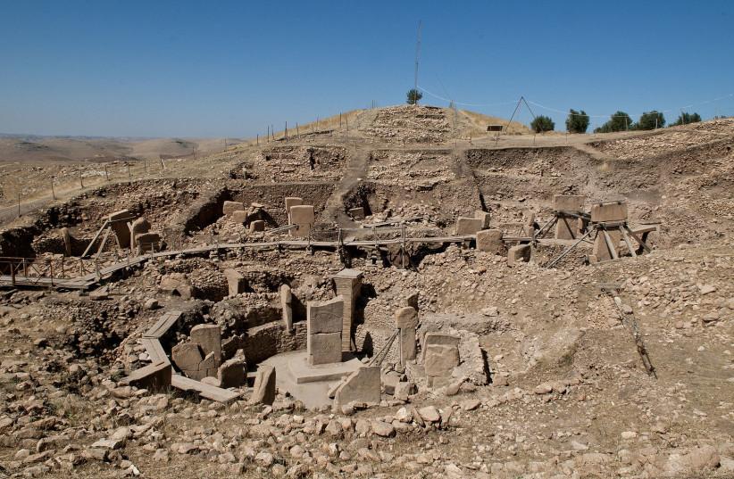 Göbekli Tepe, Urfa (photo credit: Wikimedia Commons)