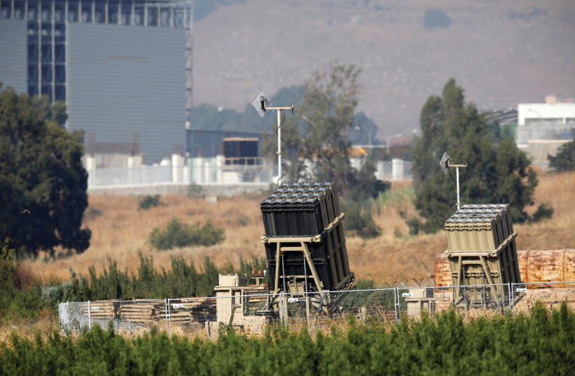 THE IRON Dome defense system. (photo credit: REUTERS)