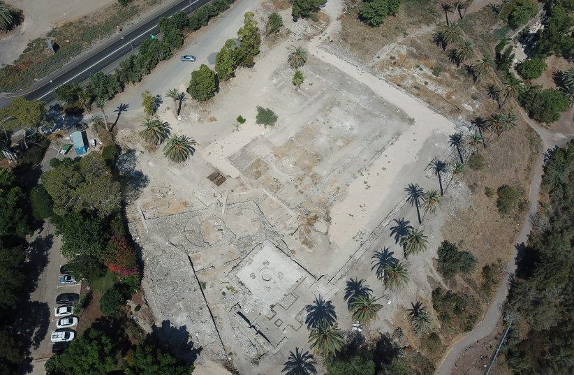 General view of the excavation area in Tel Bet Yerah. (photo credit: COURTESY OF THE TEL BET YERAH ARCHAEOLOGICAL PROJECT)
