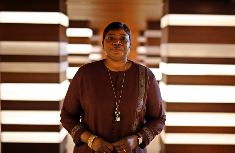 Fatou Bensouda, Prosecutor of the International Criminal Court (ICC) poses for pictures at The Hague, Netherlands October 26, 2016 (photo credit: MICHAEL KOOREN / REUTERS)