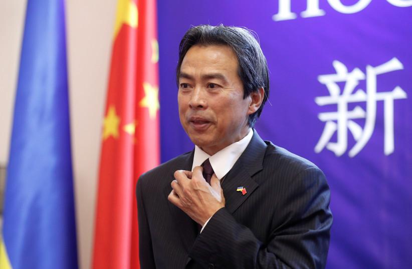 Chinese ambassador to Israel found dead in Herzliya home