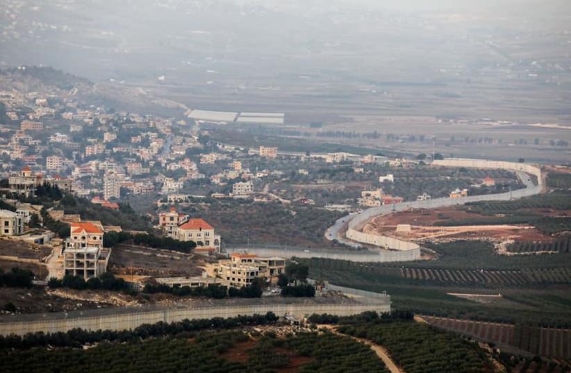 Israel-Lebanon border (photo credit: MARC ISRAEL SELLEM/THE JERUSALEM POST)