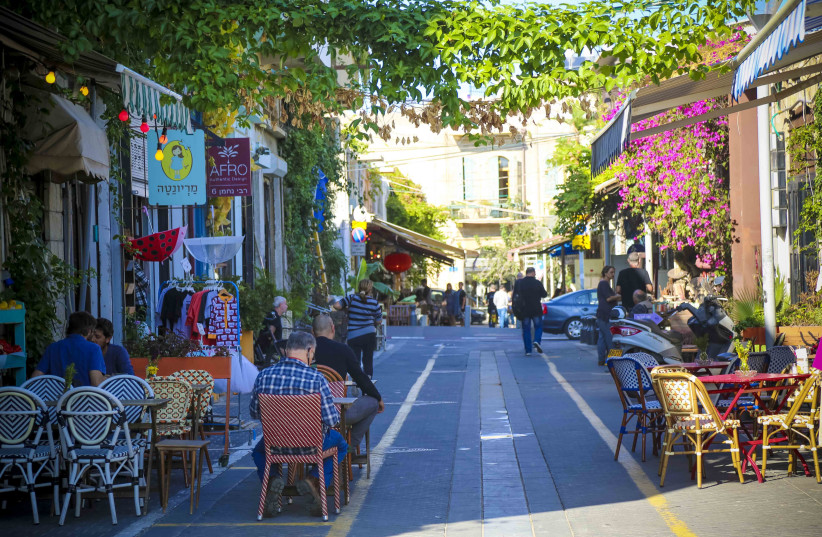 A street in Jaffa (photo credit: TEL AVIV MUNICIPALITY)