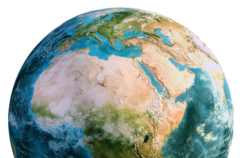 Planet Earth globe (photo credit: INGIMAGE)