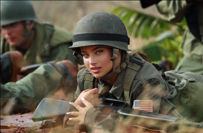 WATCH: Israeli singer Noa Kirel acts as US soldier in Yes+ promotional video (photo credit: COURTESY OF YES)