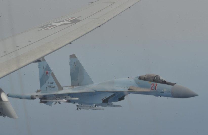 Russian pilots intercept US Navy aircraft for 3rd time in 2 months: WATCH