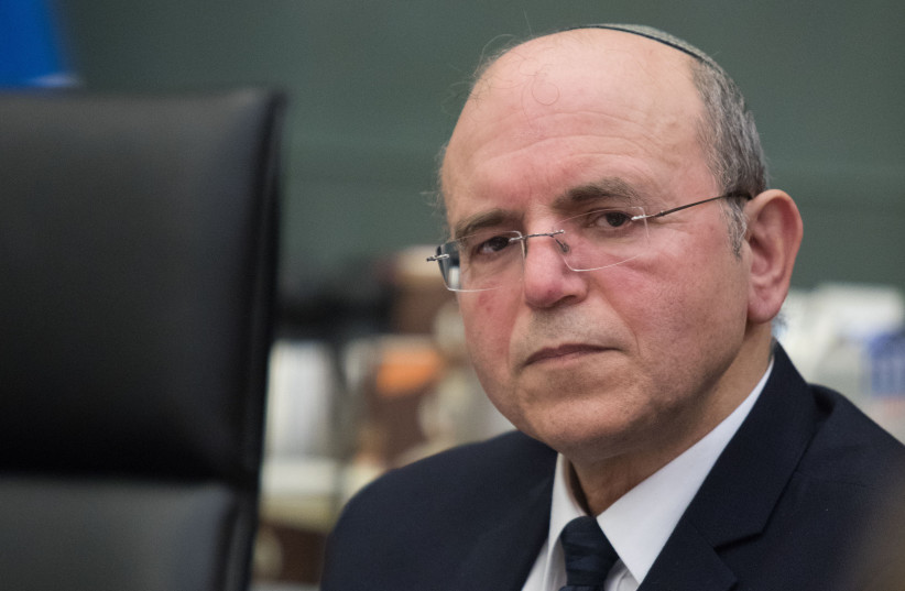 NATIONAL SECURITY COUNCIL head Meir Ben-Shabbat attends a state audit committee meeting at the Knesset in 2018 (photo credit: HADAS PARUSH/FLASH90)
