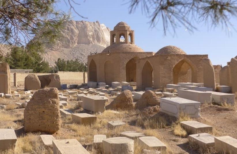 The Tomb of Serah, daughter of Asher, Pir Bakran, Iran (photo credit: Wikimedia Commons)