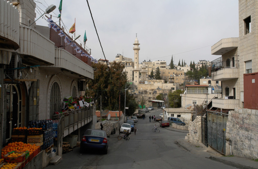 Wadi al-Joz in east Jerusalem (photo credit: V_KATSON/WIKIMEDIA COMMONS)