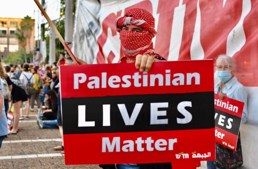 Palestinian students in California protest Israeli annexation in caravan
