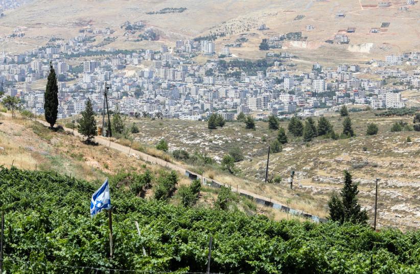 Settlement of Elon Moreh, near Nablus, West Bank, June 11, 2020 (photo credit: MARC ISRAEL SELLEM/THE JERUSALEM POST)