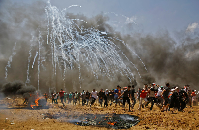 Amnesty International launches anti-tear gas campaign - The Jerusalem Post