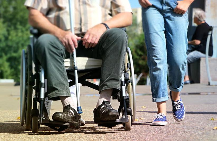 Man in wheelchair, illustrative (photo credit: PICKPIK)