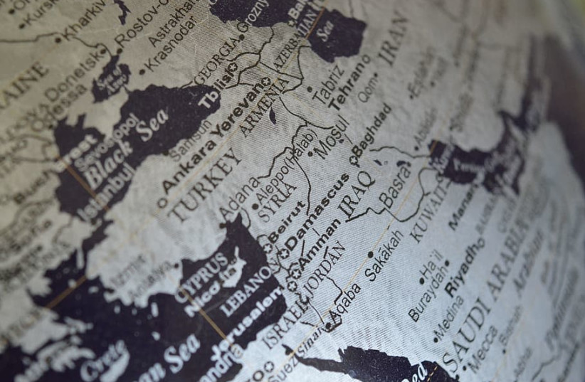 NO OTHER area in the world has so many complex conflicts than the Middle East (photo credit: WALLPAPER FLARE)