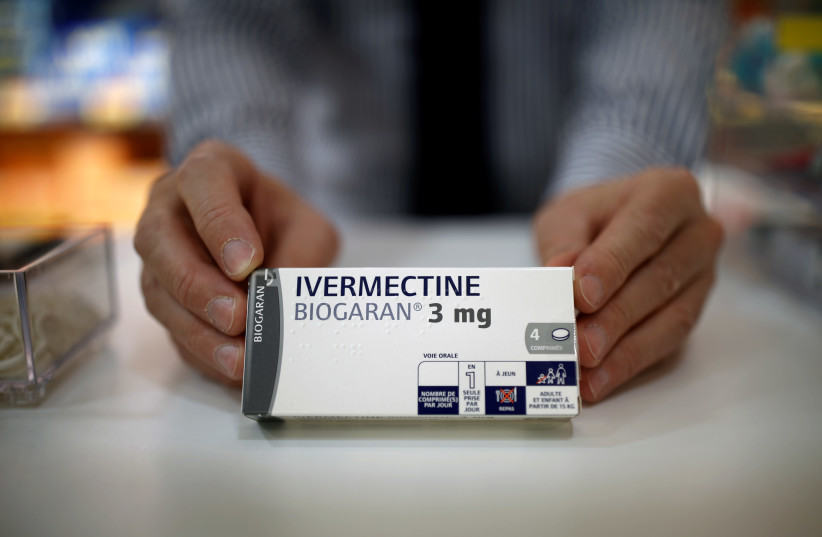 Ivermectin (photo credit: REUTERS)