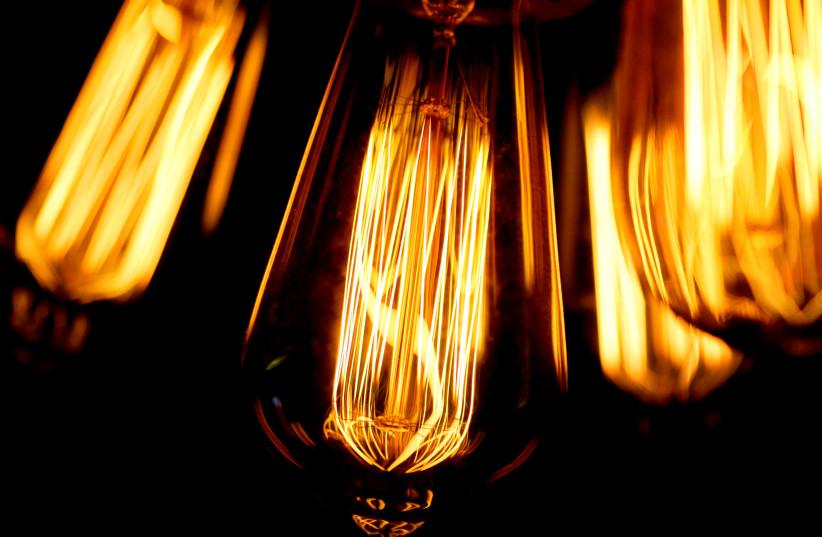 Tungsten light bulbs (illustrative) (photo credit: THOMAS WHITE / REUTERS)