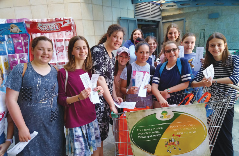 AN ACTIVITY at Chesed Camp. (photo credit: Courtesy)