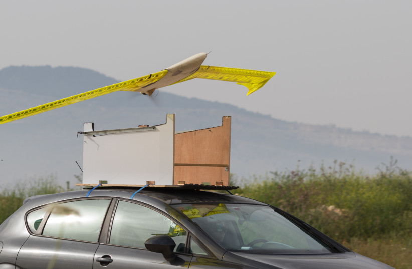 The printed airplane (photo credit: TECHNION SPOKESPERSON'S OFFICE)
