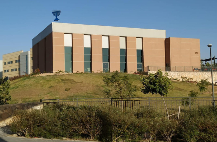 Or Olam Synagogue exterior. (photo credit: IDF SPOKESPERSON'S OFFICE)