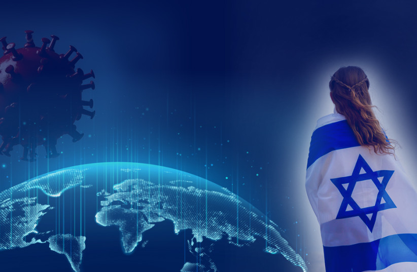 COVID-19 & The Jews (photo credit: JERUSALEM POST)