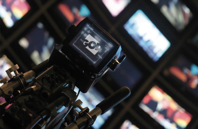Television camera of God TV (photo credit: WIKIPEDIA/GTVWEBDEV)