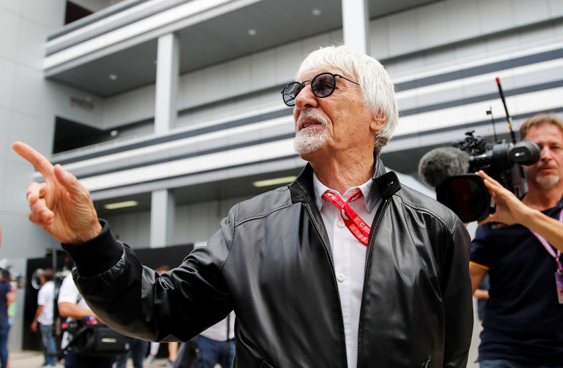 Formula One 'supremo' gives birth to firstborn son at ripe age of 89