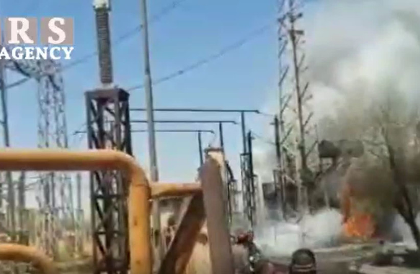 Fire at power plant, chlorine leak at petrochemical plant in Iran