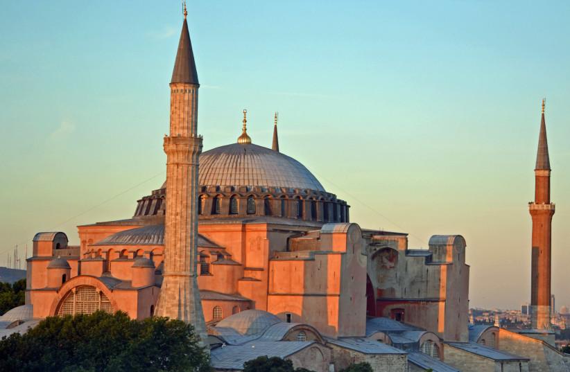 Hagia Sophia, Istanbul, Turkey (photo credit: WIKIMEDIA COMMONS/NSERRANO)