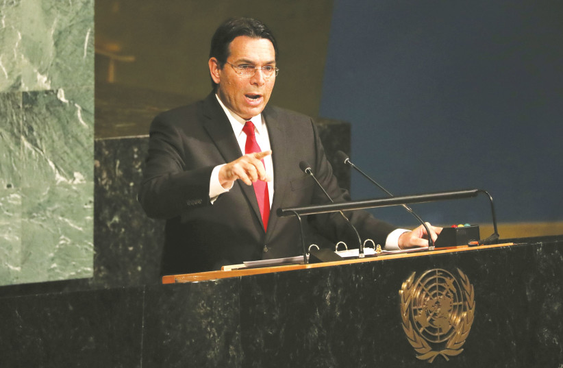 Israeli Ambassador to UN Danny Danon: Don't call it annexation
