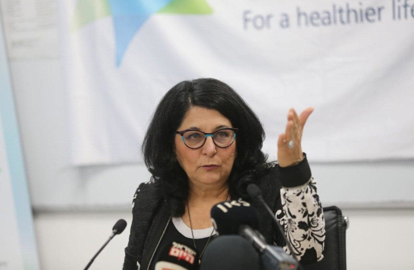 Professor Sigal Sadetsky, head of Public Health at the Health Ministry (photo credit: Courtesy)