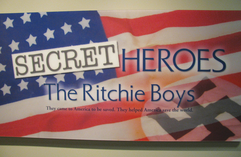 THE RITCHIE BOYS interrogated Nazis for intelligence. This book follows the life of Günther Stern, who was one of the Ritchie Boys (photo credit: DEFENSE.GOV)