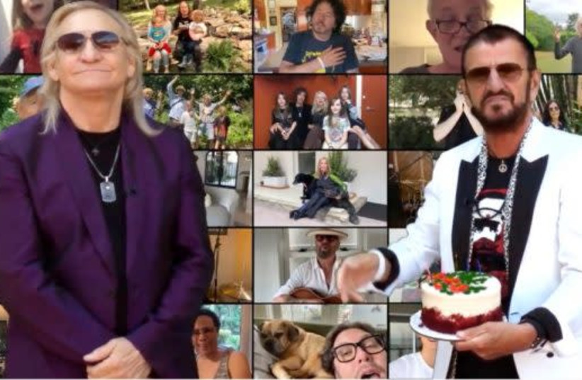 A Starry crowd for Ringo Starr's virtual 80th birthday party