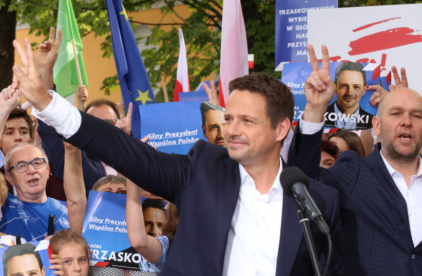Polish state media accuses opposition of supporting Jewish restitution