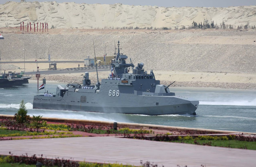 Egyptian naval drill was message to Turkey