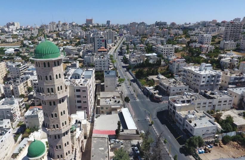 City of Hebron (photo credit: NOOR KHATIB)
