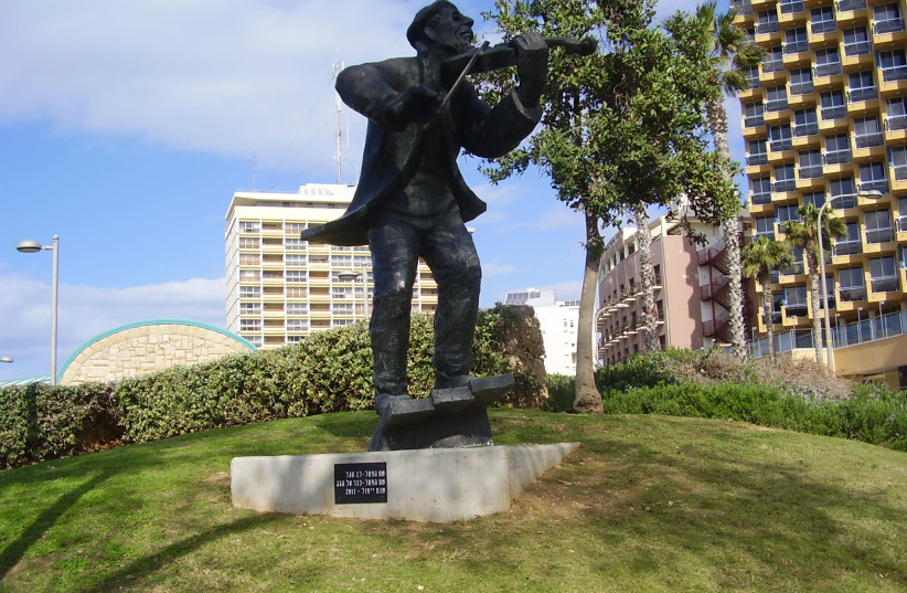 Lev Segal's 'Fiddler On The Roof' makes music in Netanya (photo credit: Wikimedia Commons)
