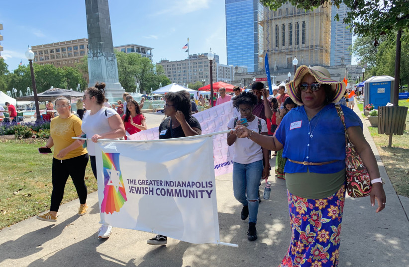 Jews of color were among those representing the Indianapolis Jewish community at the annual Festival of Faiths to celebrate the diverse religious landscape in central Indiana. (photo credit: INDIANAPOLIS JCRC)