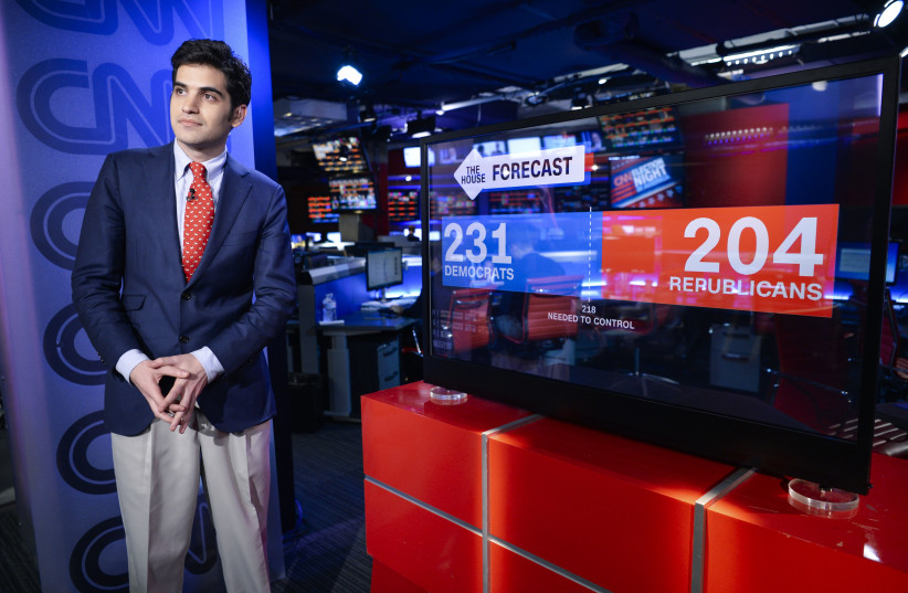 Harry Enten is now a senior writer and analyst for CNN. (photo credit: CNN/JTA)