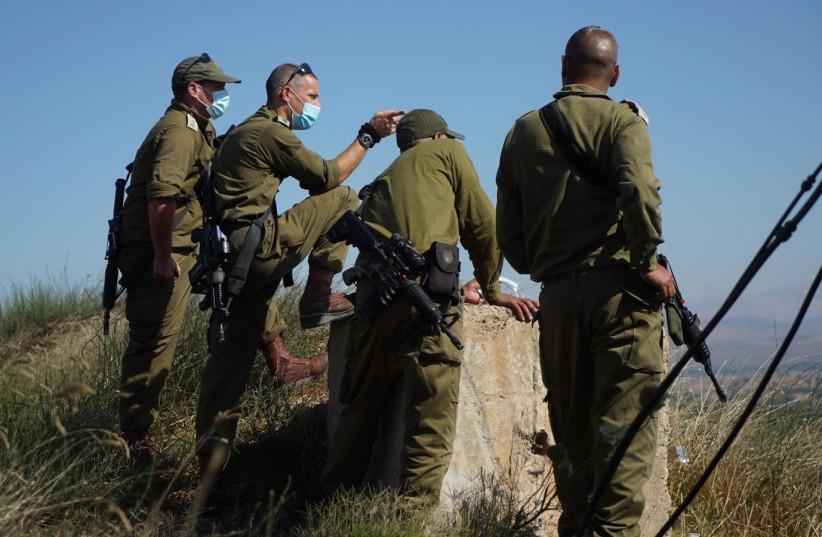 Tsahal se prépare à une éventuelle attaque du Hezbollah dans le nord d'Israël, juillet 2020 (crédit photo: UNITÉ DU PORTE-PAROLE DE L'IDF)