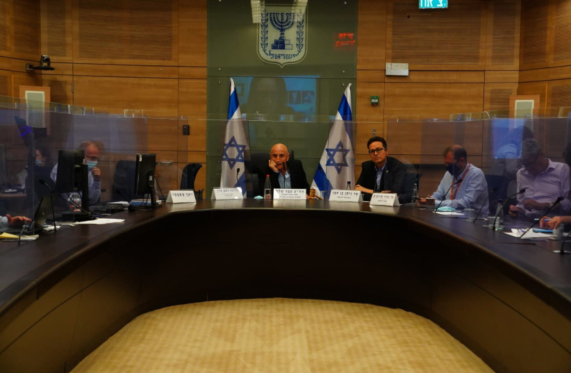 Health Ministry deputy director-general Itamar Grotto pictured attending a State Audit Committee meeting.  (photo credit: KNESSET SPOKESWOMAN - ADINA WALLMAN)