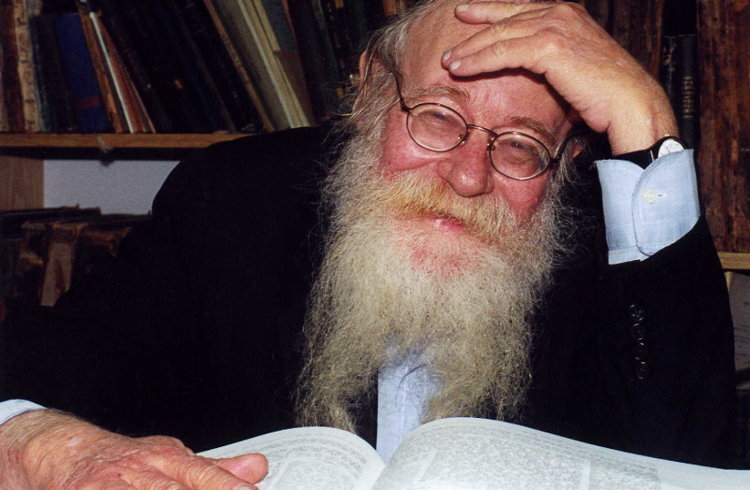 Rabbi Adin Steinsaltz (photo credit: COURTESY STEINZALTZ CENTER)