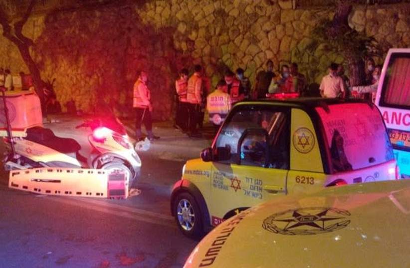Jerusalem accident kills 17-year-old boy (photo credit: MDA)