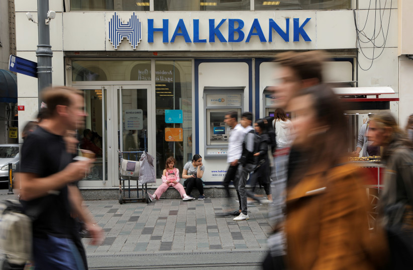 Halkbank pleaded not guilty on March 31 to bank fraud, money laundering and conspiracy charges. (photo credit: REUTERS/HUSEYIN ALDEMIR - RC1BA1A70200)