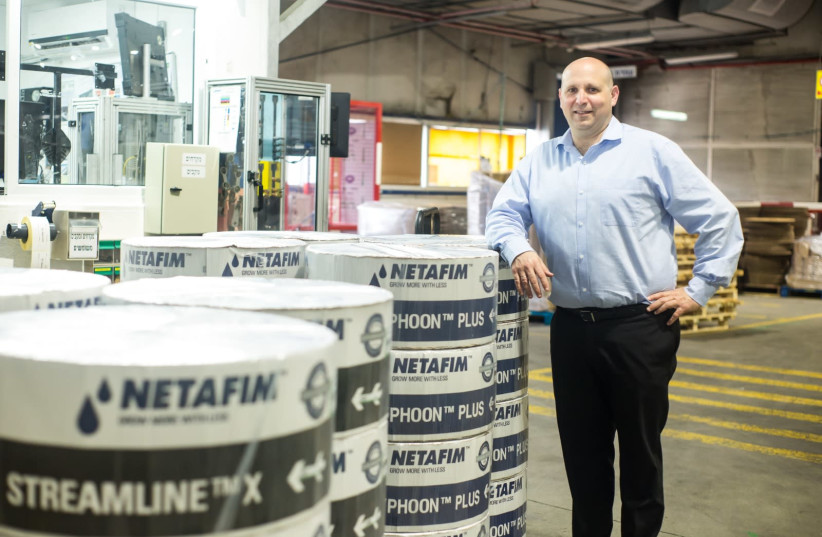 Netafim CEO Gaby Miodownik (photo credit: DROR SITHAKOL​)