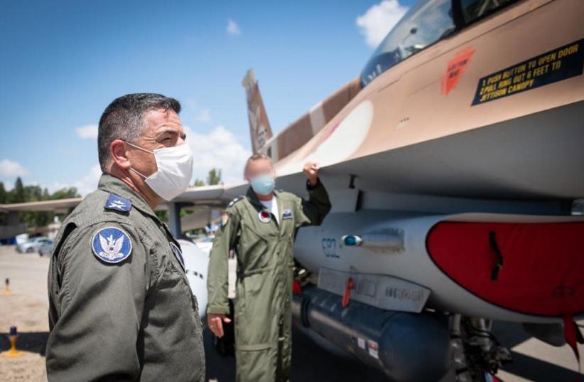 IAF commander Maj.-Gen. Amikam Norkin. (photo credit: IDF SPOKESPERSON'S UNIT)