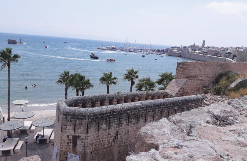 The view from Tel Akko (photo credit: LIAT COLLINS)