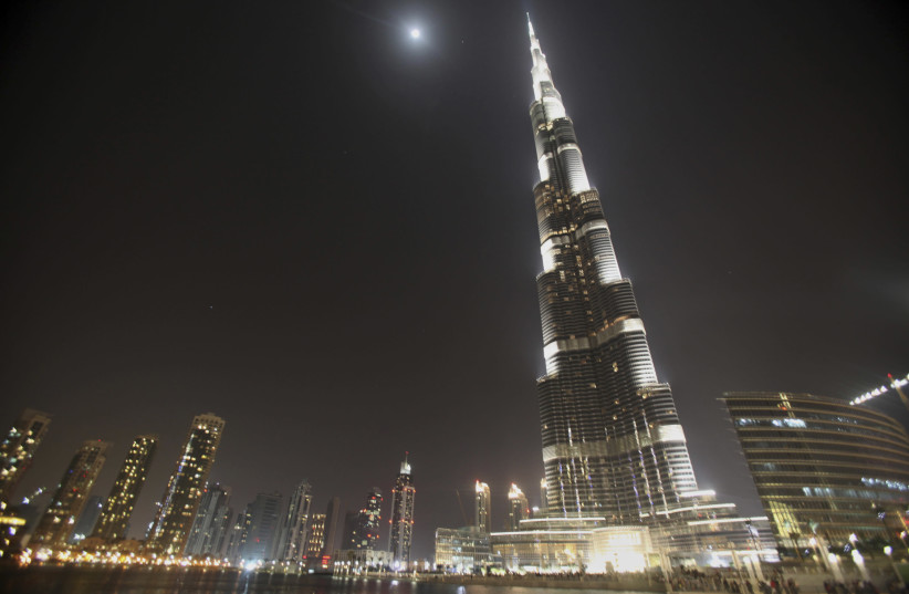 A general view of the Dubai skyline (photo credit: MOHAMMED SALEM/REUTERS)